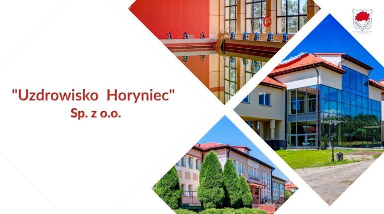 """""""Uzdrowisko Horyniec"""" Sp. z o.o."""
